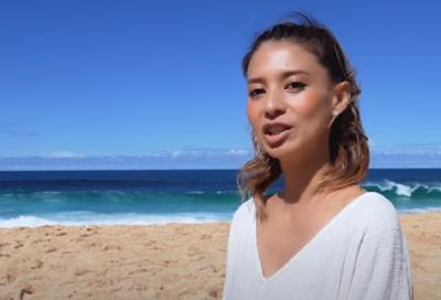 吉川ひなの、41歳で現在妊娠中(3人目)見えない~in Hawaii
